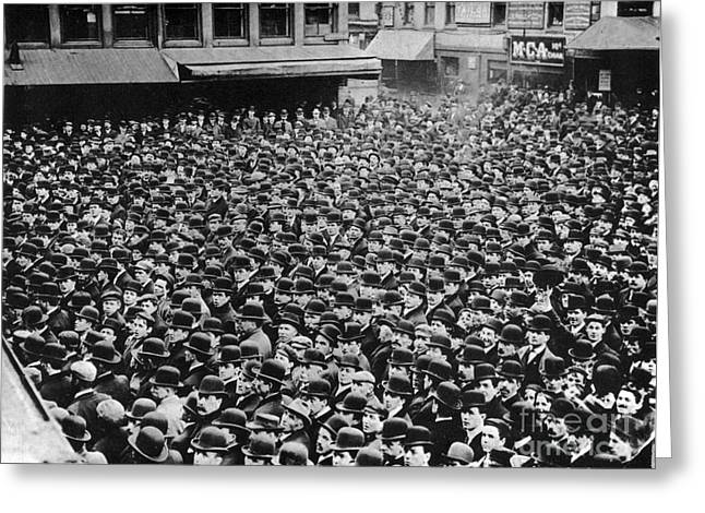 Rally Greeting Cards - Boston Labor Demonstration, 1910s Greeting Card by Photo Researchers