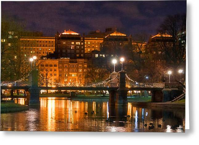 Boston Lagoon Bridge 2 Greeting Card by Joann Vitali