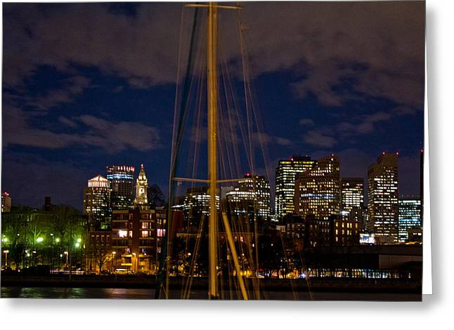 Tea Party Greeting Cards - Boston Mass  Greeting Card by John McGraw