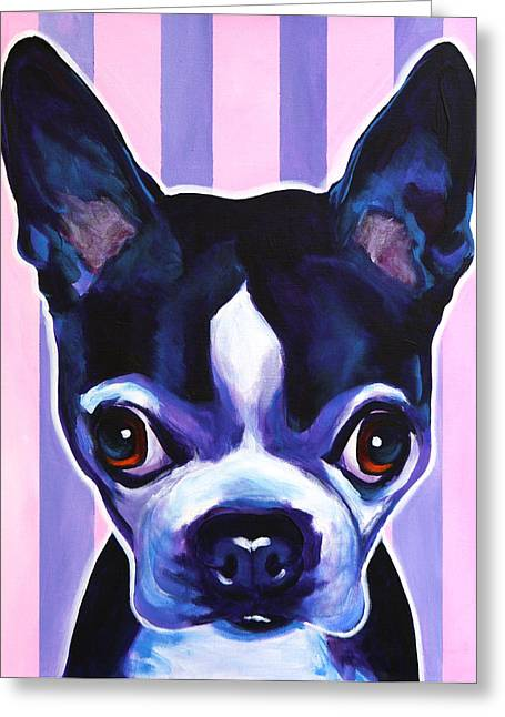 Alicia Vannoy Call Greeting Cards - Boston - Missy Greeting Card by Alicia VanNoy Call