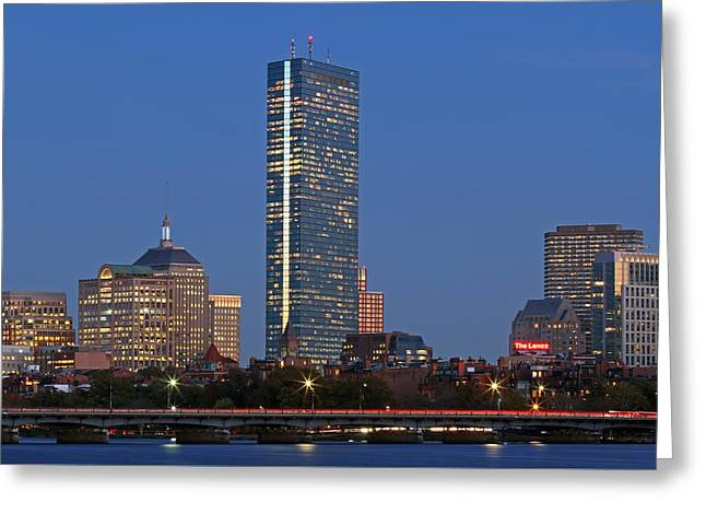 Charles River Greeting Cards - Boston Plywood Palace Greeting Card by Juergen Roth