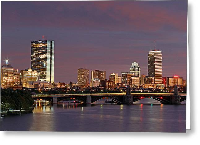 Boston Pride Greeting Card by Juergen Roth