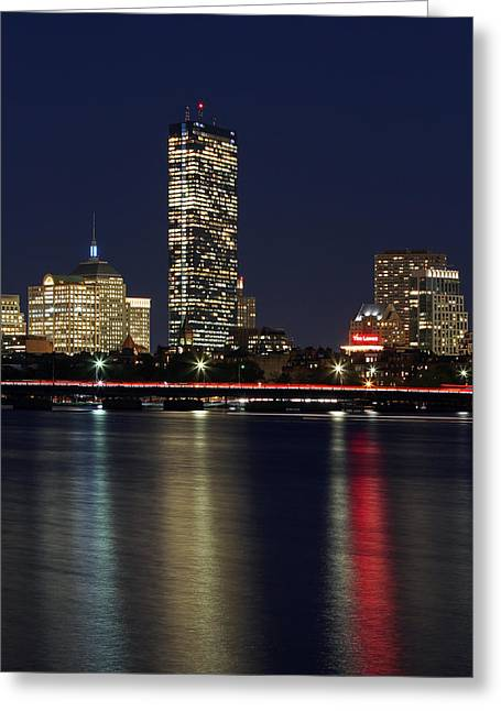 Charles River Greeting Cards - Boston Proud Greeting Card by Juergen Roth