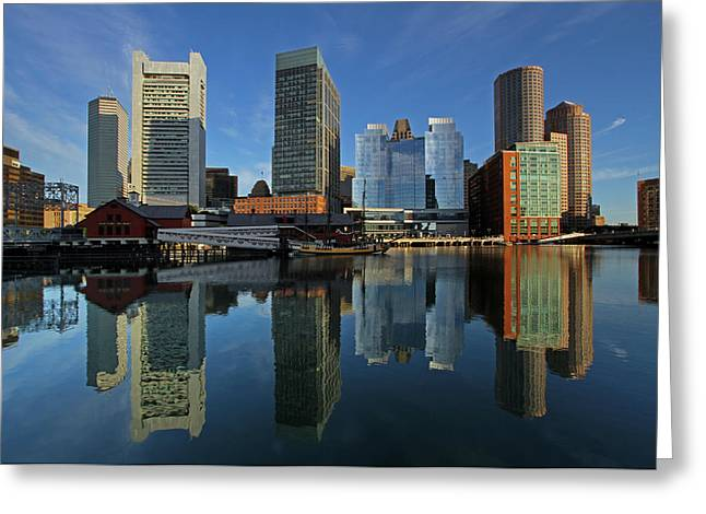 Boston Photos Greeting Cards - Boston Tea Party Greeting Card by Juergen Roth