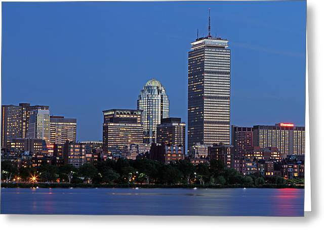 Huntington Hotel Greeting Cards - Bostonians Favorite Greeting Card by Juergen Roth