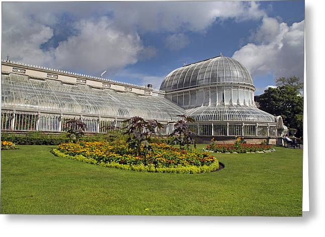 Belfast Greeting Cards - Botanic Gardens Belfast Ireland Greeting Card by Betsy C  Knapp