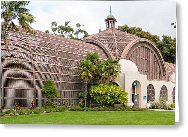 Botanical Building In Balboa Park, San Greeting Card by Panoramic Images