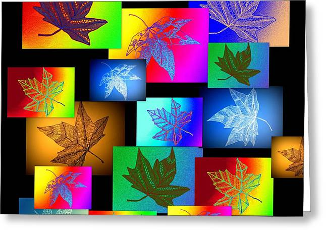 Photos Of Autumn Digital Greeting Cards - Botanics Greeting Card by Cathy Jacobs