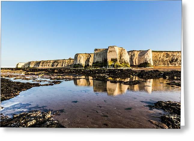 Sea Stack Greeting Cards - Botany Bay Greeting Card by Ian Hufton
