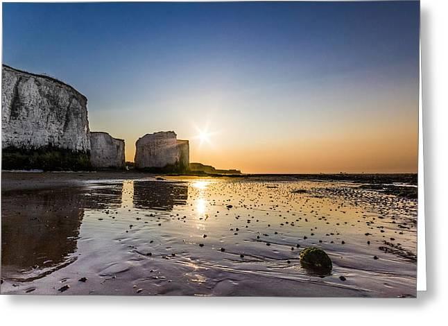 Botany Greeting Cards - Botany Bay Sunset Greeting Card by Ian Hufton