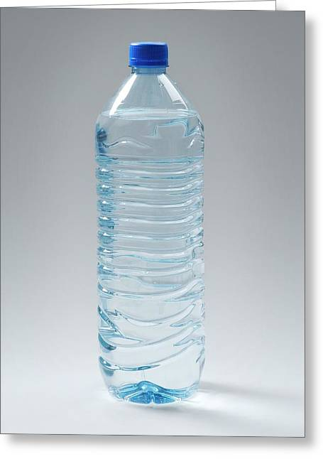 Bottled Water Greeting Card by Trevor Clifford Photography