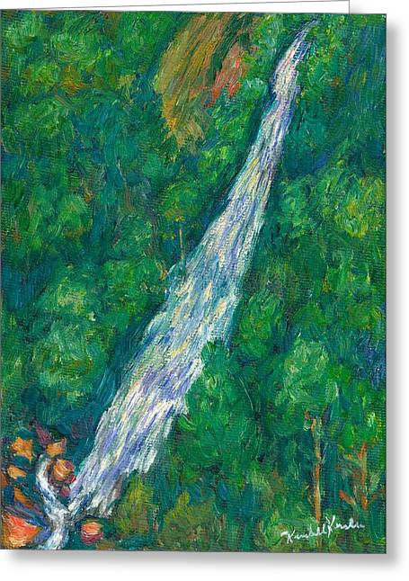 Impressionist Greeting Cards - Bottom Creek Greeting Card by Kendall Kessler