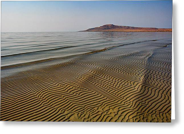 Ripples Greeting Cards - Bottom Ripples Greeting Card by Chad Dutson