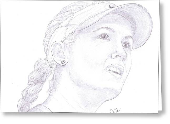 Wta Greeting Cards - Bouchard Greeting Card by Steven White