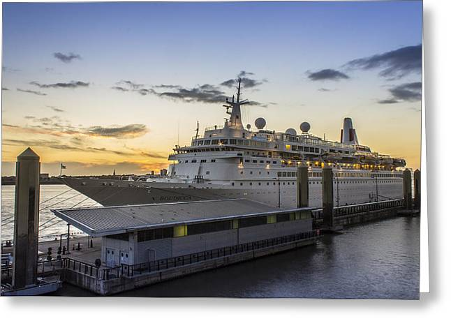 Cruise Terminal Greeting Cards - Boudicca Greeting Card by Paul Madden