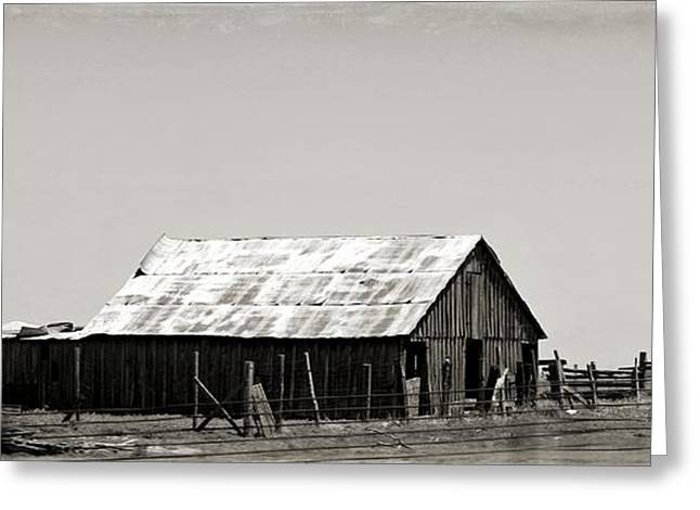Tin Roof Greeting Cards - Bought the Farm Greeting Card by Elizabeth Sullivan