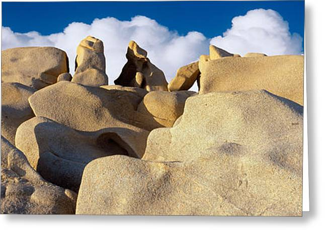 Baja California Greeting Cards - Boulders, Lands End, Cabo San Lucas Greeting Card by Panoramic Images