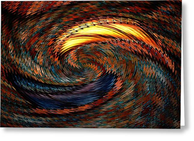 Artistic Creation Greeting Cards - Boundless Greeting Card by Louis Ferreira