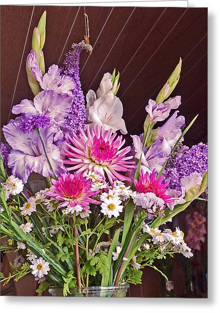 Farm Stand Greeting Cards - Bouquet Beauty  Greeting Card by Gracia  Molloy