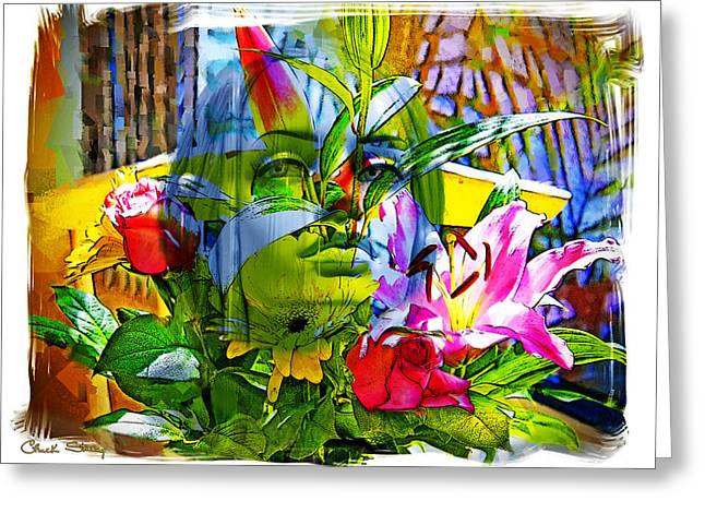 Ladies Of Rodeo Drive Greeting Cards - Bouquet Greeting Card by Chuck Staley