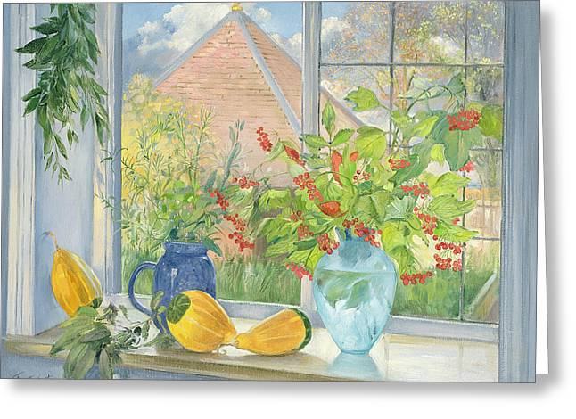 In Bloom Greeting Cards - Bouquet Garnie Greeting Card by Timothy  Easton