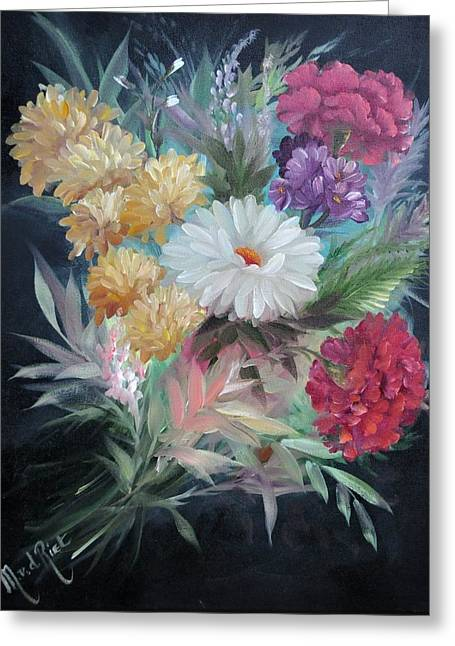 Natuur Greeting Cards - Bouquet Greeting Card by Mirel Van de Riet