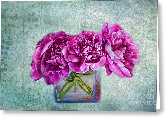 Bouquet Of Beauty Greeting Card by Andrea Kollo