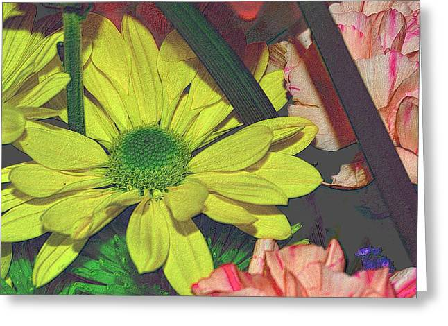 Flowers Direct Greeting Cards - Bouquet of Flowers 3 Greeting Card by Richard Zentner