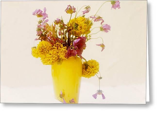 Various Greeting Cards - Bouquet of flowers Greeting Card by Bernard Jaubert