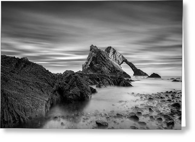 Bows Greeting Cards - Bow Fiddle Rock 1 Greeting Card by Dave Bowman