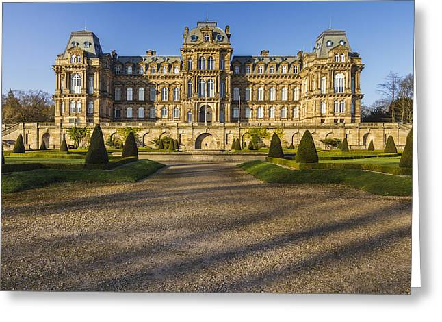Chateau Greeting Cards - Bowes Museum Greeting Card by David Taylor