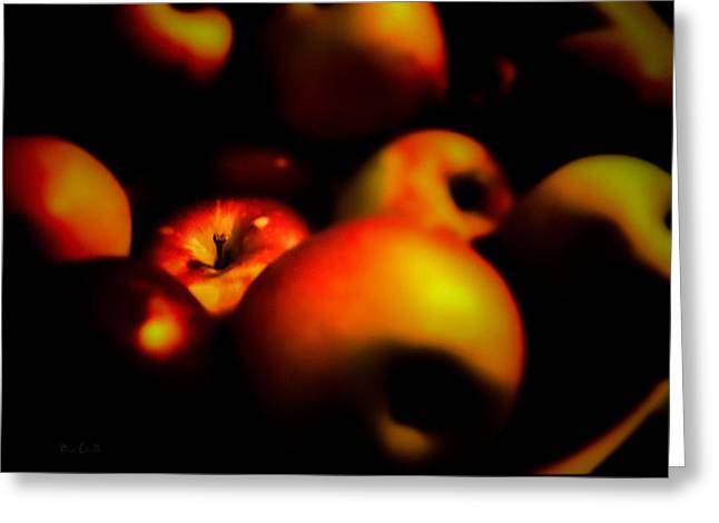 Apple Photographs Greeting Cards - Bowl Of Apples Greeting Card by Bob Orsillo