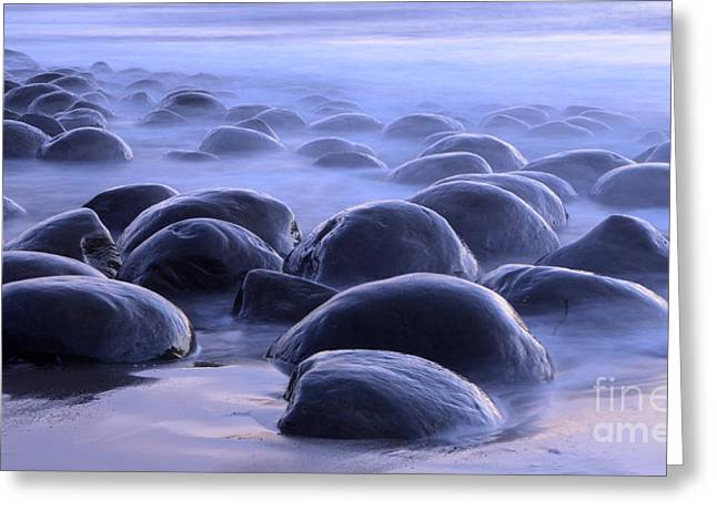 Bowling Ball Beach California Greeting Card by Bob Christopher