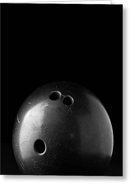White Bowl Greeting Cards - Bowling Ball Phone Case Greeting Card by Edward Fielding