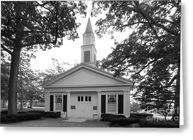 Bowling Green State University Prout Chapel Greeting Card by University Icons