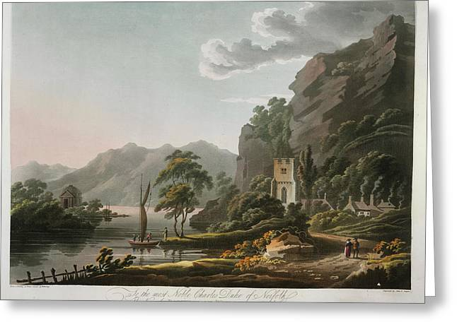 Bowness On Windermere Greeting Card by British Library
