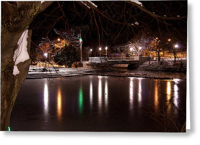 Bowring Park Greeting Card by Darrell Young