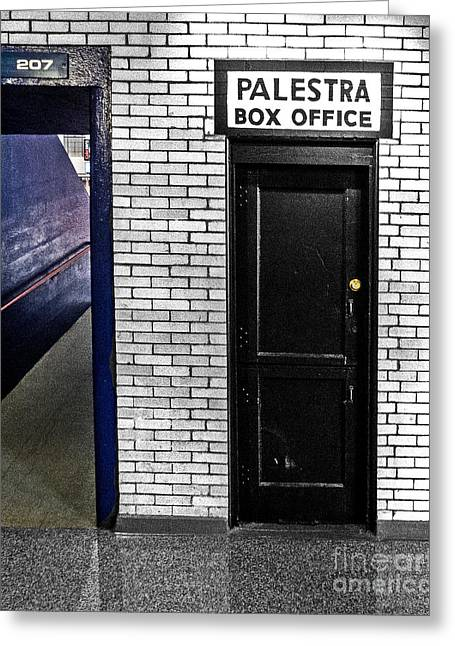 Basketballs Greeting Cards - Box Office of Games Gone By Greeting Card by Tom Gari Gallery-Three-Photography
