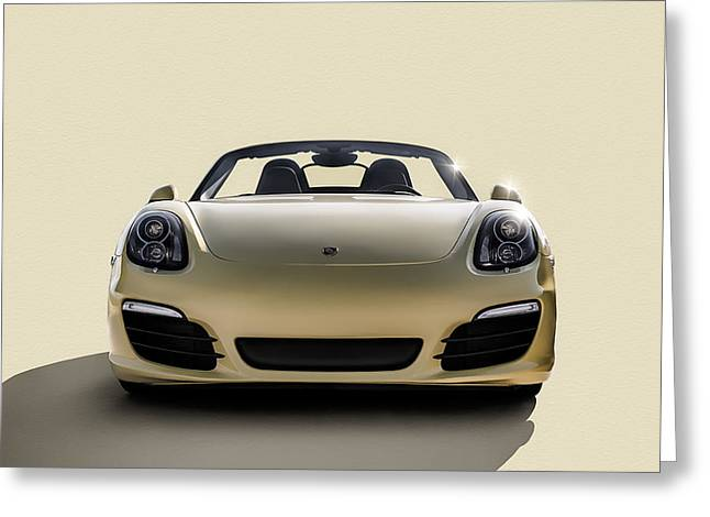 Roadsters Greeting Cards - Boxter Greeting Card by Douglas Pittman