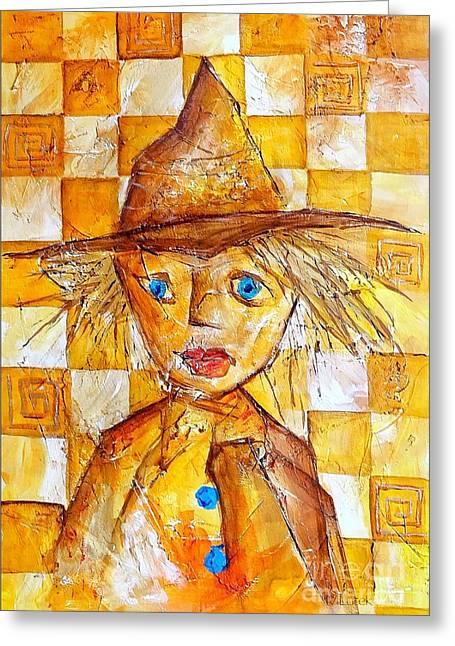 Subtle Colors Greeting Cards - Boy 621-12-13 marucii Greeting Card by Marek Lutek