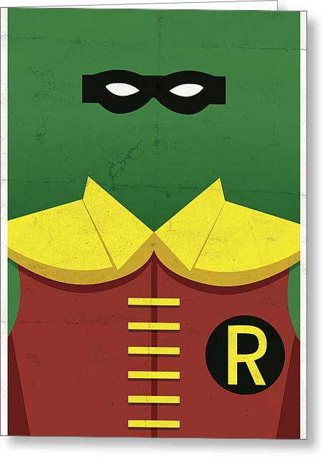 Sidekick Greeting Cards - Boy Wonder Greeting Card by Michael Myers
