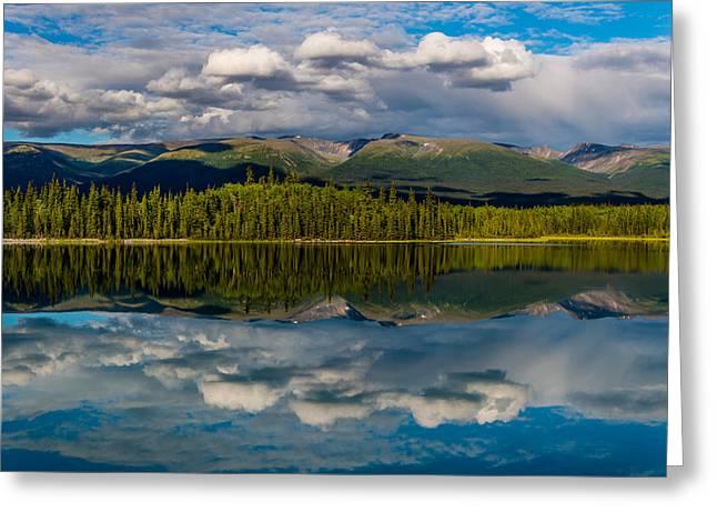 British Columbia Greeting Cards - Boya Lake Greeting Card by Ian Stotesbury