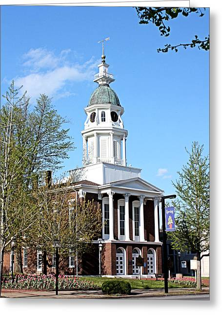 Boyle Greeting Cards - Boyle County Courthouse 4 Greeting Card by Kristin Elmquist