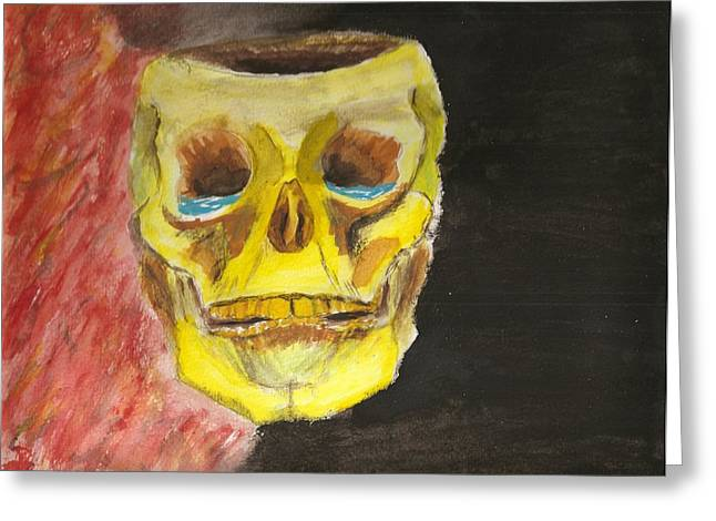 Disorder Paintings Greeting Cards - Bpd Greeting Card by Rob Spencer