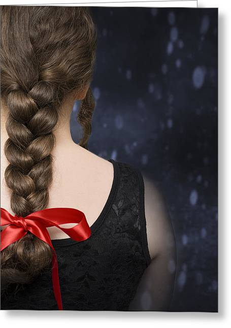 Winter Photos Greeting Cards - Braided Hair Greeting Card by Amanda And Christopher Elwell
