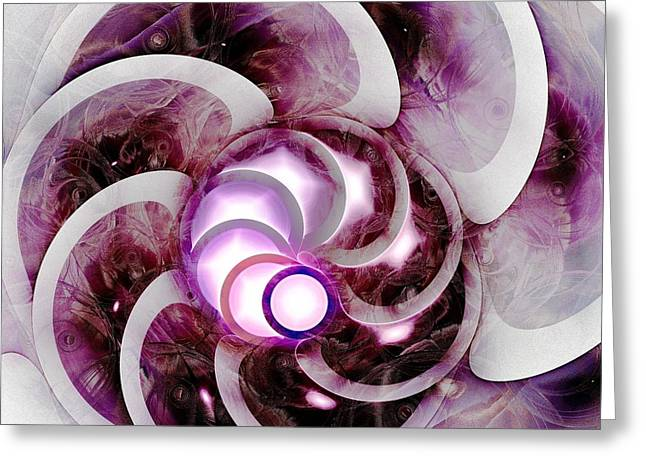 Brain Waves Greeting Card by Anastasiya Malakhova