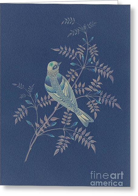 Becky Greeting Cards - Bramble Finch-3 PhotoArt Greeting Card by Becky Hayes