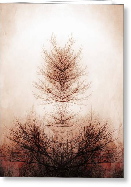 Branch Of Life Greeting Card by Melissa Bittinger