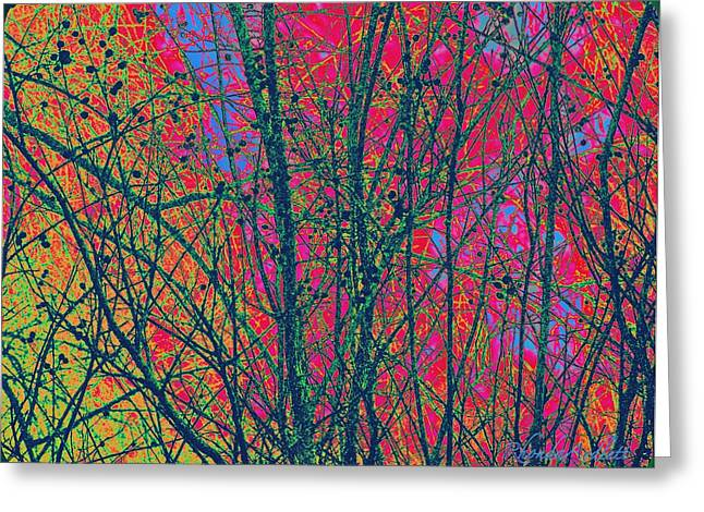 Branches Greeting Card by YoMamaBird Rhonda