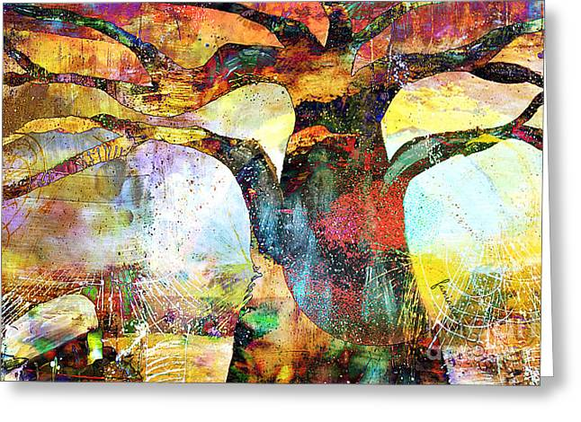 Branching Out Greeting Card by Fania Simon